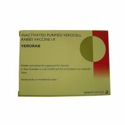 Verorab Injection, Packaging Size: 0.5 Ml