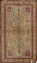 Vimla International Rectangle Antique Woven Accent Handmade Floor Rug, Size: 3 X 6 Feet