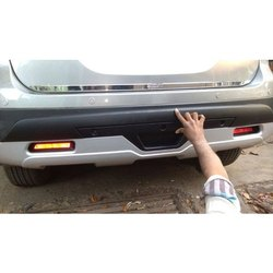 Black ABS Plastic Car Bumper Rear Guard, for To protect rear part of car