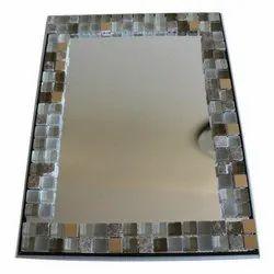 Decorative Mirror Glass, Thickness: 5-10 mm