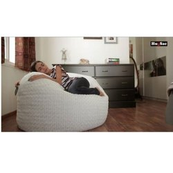Hugsac Round Solosac Recliner Chair, Size: 4 feet, Seating Capacity: 1