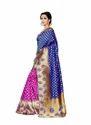 Banarasi Silk Saree, Length: 6.3 M