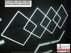 Cool White 48 W Panel Light Square, For Indoor, Model Name/Number: LH15