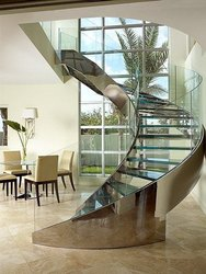 Mirror Finish Stair Case