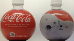 Printed Shrink Label For Soda Bottles