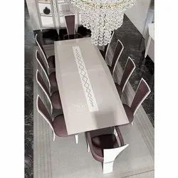 10 Seater Standard Wooden Dining Table