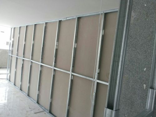 Drywall Partition Fibre Cement Board सीमेंट फाइबर बोर्ड