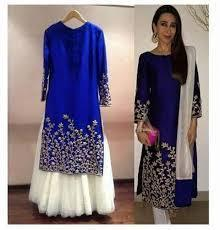 Embroidered Silk Suits at Best Price in India