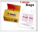 White And T Shirt Shopping Carry Bags, Bag Size (inches): 6x15 And 16x20