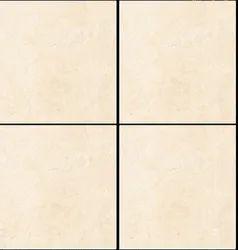Ceramic Gloss Crema Marfil Fusion, Thickness: 8 - 10 mm, Size: Small