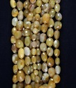 Natural Camel Agate Faceted Nuggets Beads