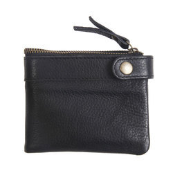 Mens Genuine Leather Black Wallet