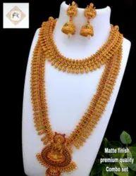 Karishma Kreations Matte Finish Jewellery Set - 100502100