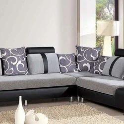 Living Room L Shaped Sofa Set L Shape Couch एल श प स फ स ट Mauli Traders Navi Mumbai Id 19858858373