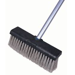 Floor Brush With Wiper