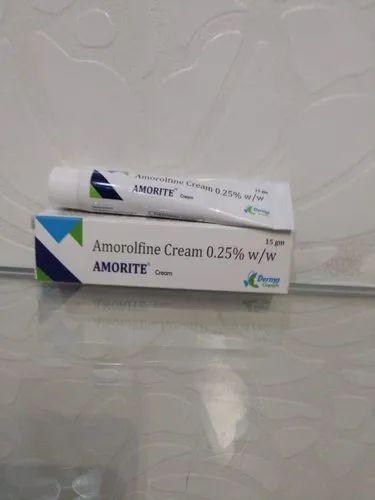 Amorolfine Cream 0.25 % ( Amorite Cream )