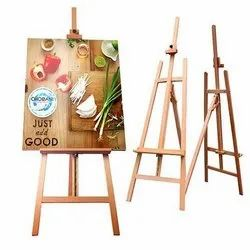 Easel Wooden Display Stand