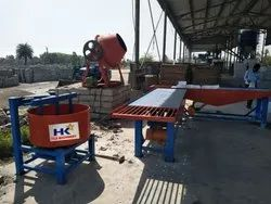 VIBRATOR PAVER BLOCK MACHINE