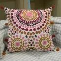 New Mandala Embroidery Cotton Chair Cushion Cover