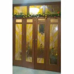 8 - 10 Feet (l) Indoor Designer Door Glass
