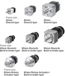 Shaft Type 5-Phase Stepper Motors Standard Type/Built-in BR
