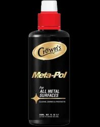 Liquid White Crown Metapol Brasso, For Metal, Packaging Size: 250grm