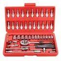 Socket tool kit 46 in 1