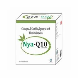 Coenzyme L Carnitine Lycopene with Vitamins Capsules