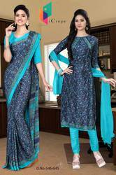 Uniform Saree And Salwar Combo-546-645