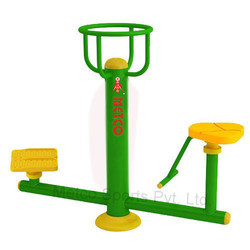 Outdoor Gym Equipment Metco Twister & Leg Trainer 9105