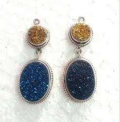 92.5 Druzy Earrings Jewelry