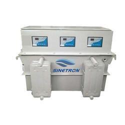 Sinetron Three Phase Servo Voltage Stabilizer