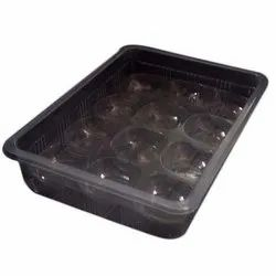 Black Thermoformed Tray