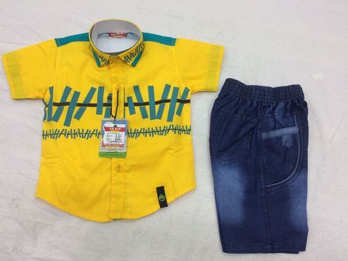 Boys 3 Colour Casual Baba Suit
