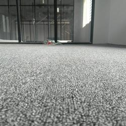 Grey Polyester Non Wooven Carpet