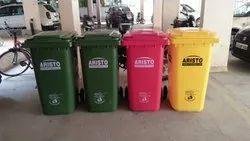 Aristo Plastic Wheeled Garbage Dustbin 240 L