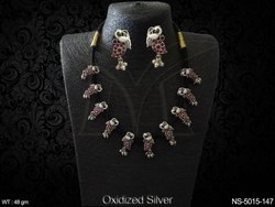 Antique Oxide Necklace Sets