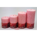Rose Pink Candles