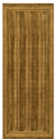 Cinnamon - Heavy PVC Door