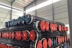 Black Steel Seamless Pipes ASME SA106 GR B