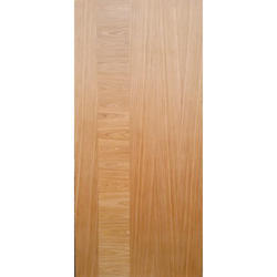 Brown Oak Veneer Door