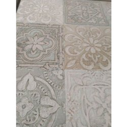 Floral Printed Ceramic Wall Tiles, Thickness: 0-5 mm, Size: 30  * 60 (cm)