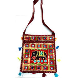 Multy Embroidered Rajasthani Handicraft Handbag