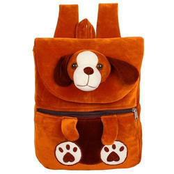 Half Flap Dog School Bag