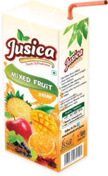 jusica Mixed Fruit Drink, Packaging Size: 500 ml