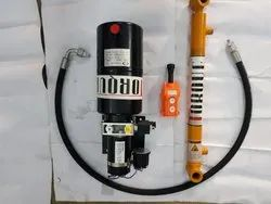 Hydraulic DC Power Pack For E Rickshaw Tipper