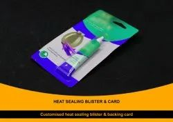 Heat Sealing Blister and Card