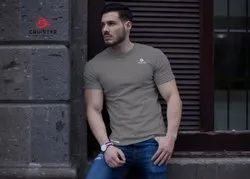 Men Casual Round Neck Sports T-Shirt