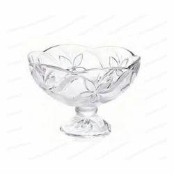 Roxx 23 cm Tulip Footed Glass Bowl