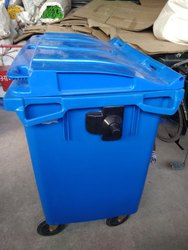 660 Liter Wheeled Garbage Dustbin